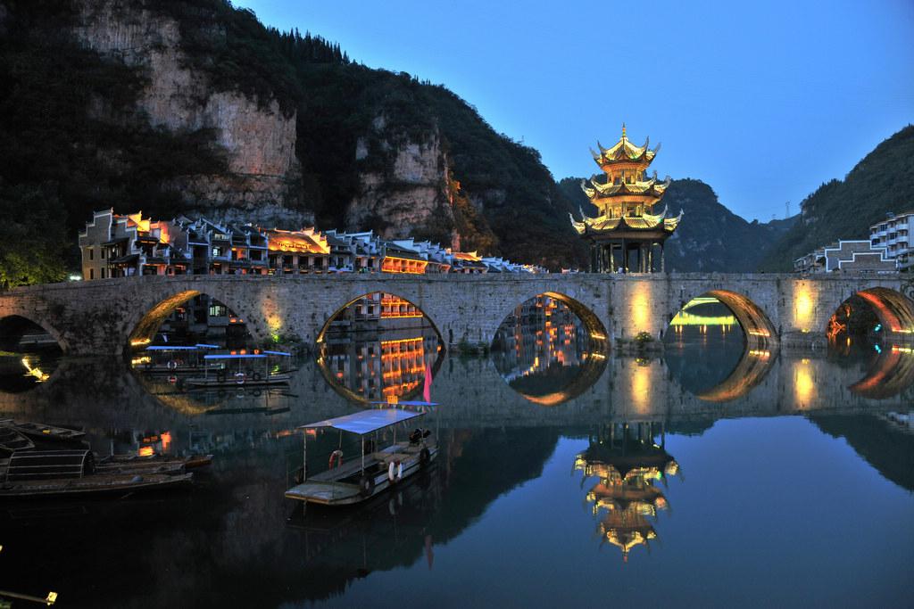 重庆到镇远古镇,贵州千户苗寨三日民族风情体验之旅(人文旅游)